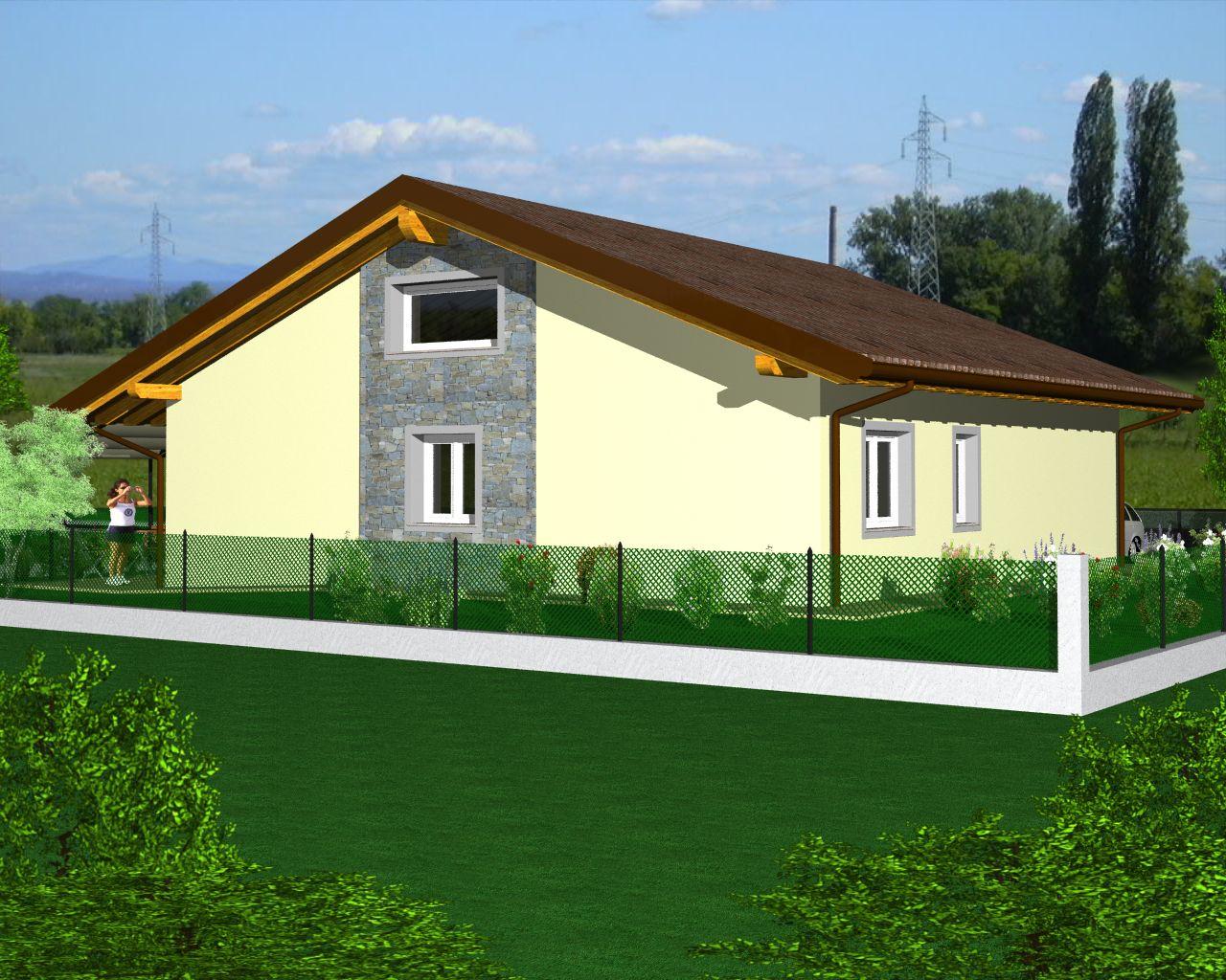 villa singola progetto personalizzabile turello