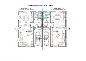 Villa bifamiliare progetto personalizzabile turello for Progetti di ville
